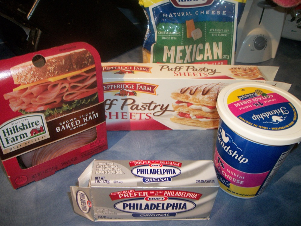 Sunday Brunch – Ham and Cheese Sticks..