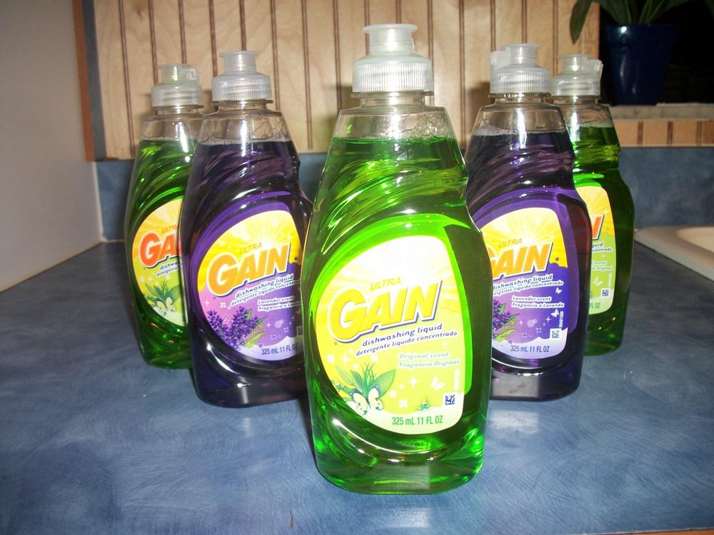 Free Gain Dish Soap at Walmart & Giveaway !!!