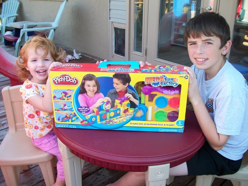 Fun Saturday and Play- Doh