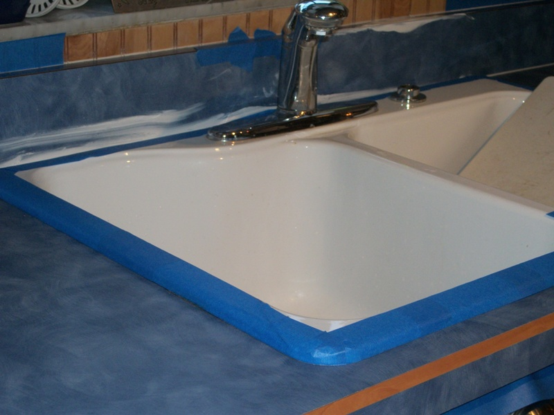 Countertop Paint Problems : Giani Granite Countertop Transformation Review Home Design Ideas