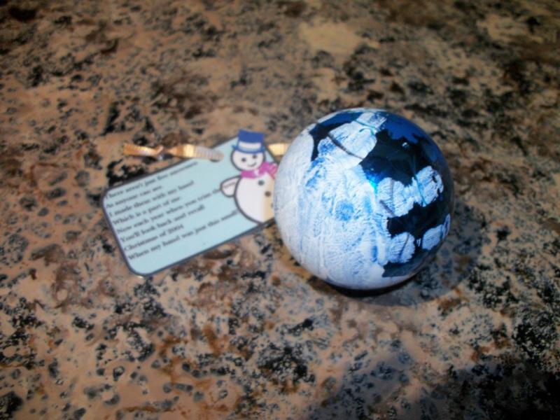 Keepsake – Christmas Ornament Craft
