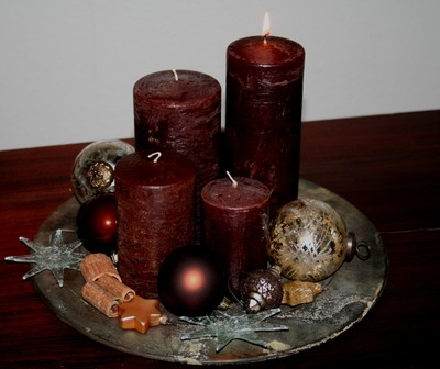 Burn your First Candle it's 1st Advent….