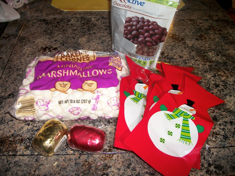 Snowman & Reindeer Goodie Bags