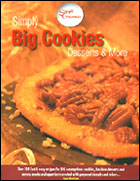Simply BIG Cookie Book Review & Giveaway