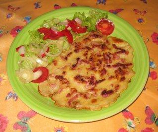 Brunch Sunday – German Pancakes w/ Bacon
