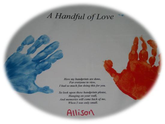 Handprint Quotes. QuotesGram