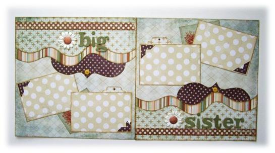 Scrapbook Friday: Kiwi Lane Design