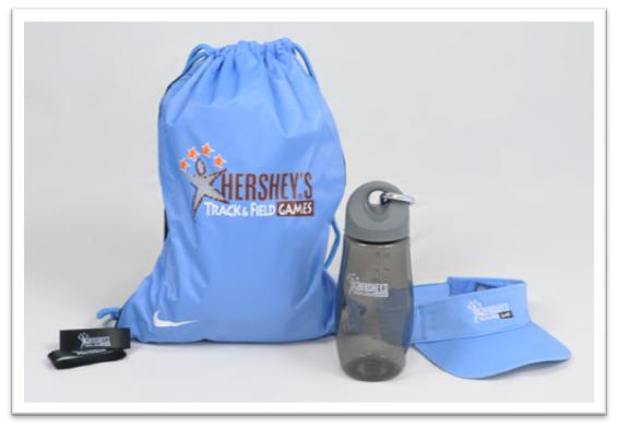 Hershey'sTrack & Field Giveaway Prize Pack