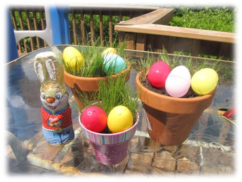 Fun Saturday: grow your own Easter Basket