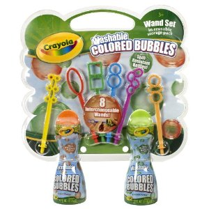 Crayola Colored Bubbles