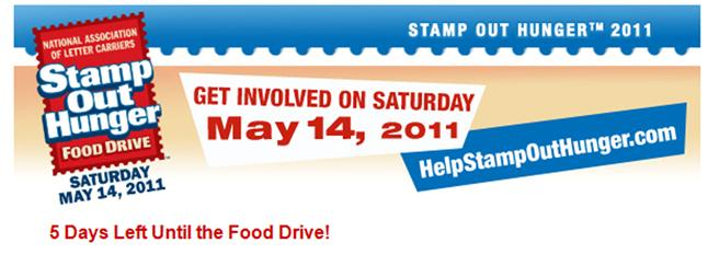 Stamp out Hunger Campaign 2011