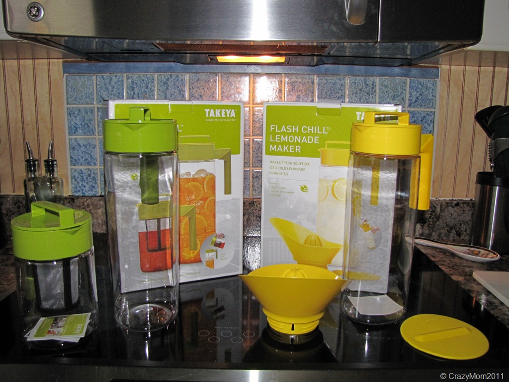 Takeya Tea and Lemonade Maker Review and Giveaway
