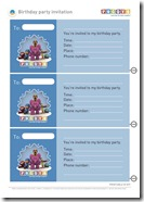 Pocoyo Birthday Party Invite