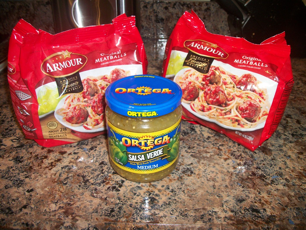 Crockpot Thursday : Meatballs in Green Salsa Verde
