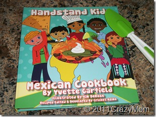 Book Review Wednesday: Handstand Kids Mexican Cookbook {Review & Giveaway}