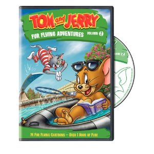 Tom and Jerry: Fur Flying Adventures Volume 2 on DVD{ Giveaway}