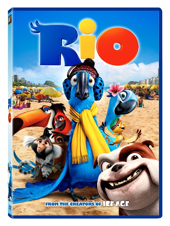 Rio The Movie and Coloring APP introduction {Giveaway US and Canada}