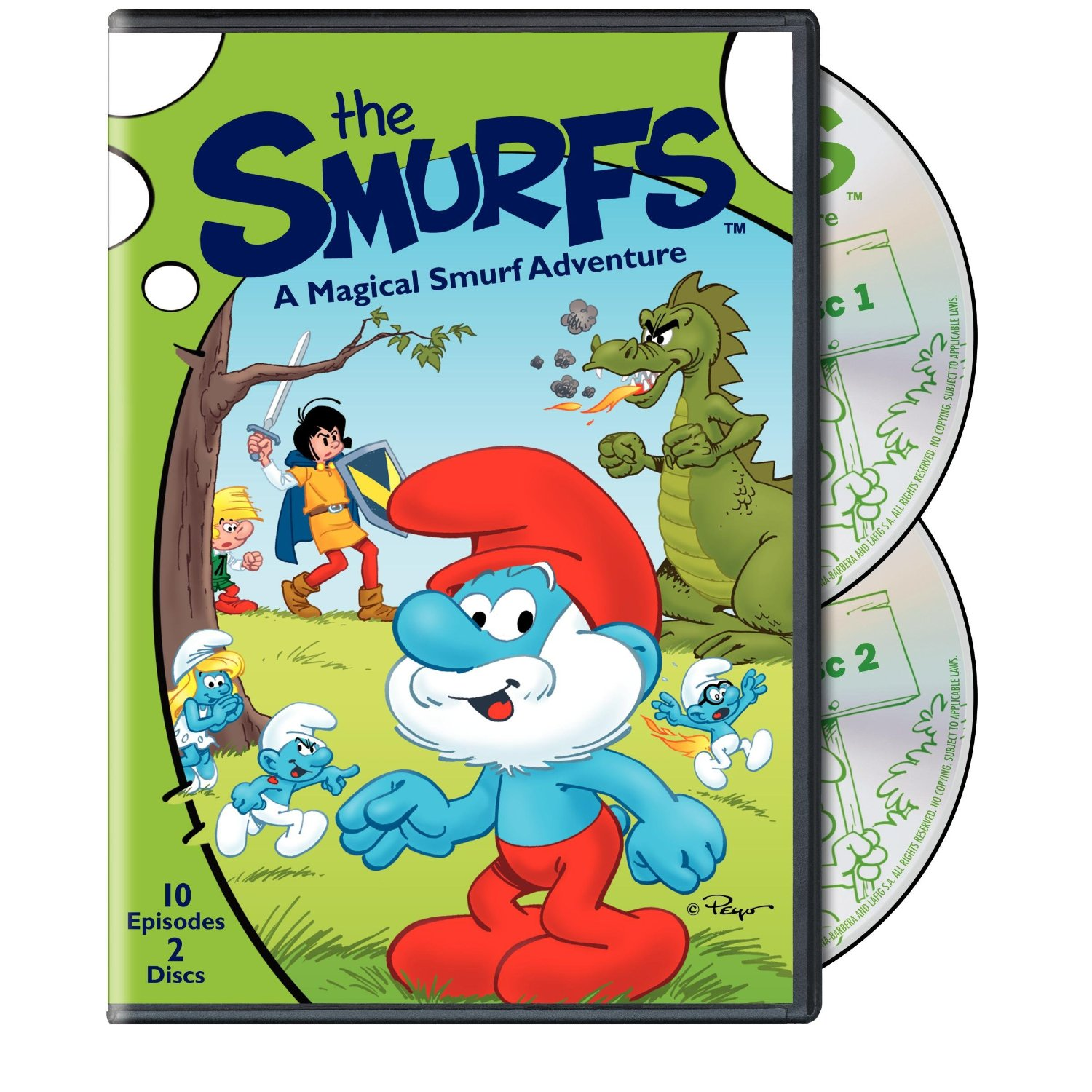 The Smurfs DVD {Review & Giveaway}