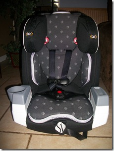 Safety 1st Rumi™ Air Harnessed Booster Car Seat {Review & Giveaway