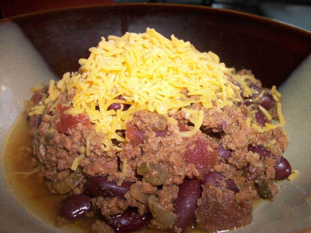 Crockpot Comfort Food– Simple Chili Dinner