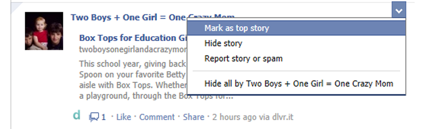 Facebook changed yet again