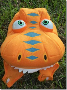 Buddy is the main character on the hit TV series Dinosaur Train. This colorful costume includes the orange colored T-Rex jumpsuit Buddy the dinosaur hood ... & Celebrate Halloween with Dinosaur Train and Co Giveaway u0026 Review ...