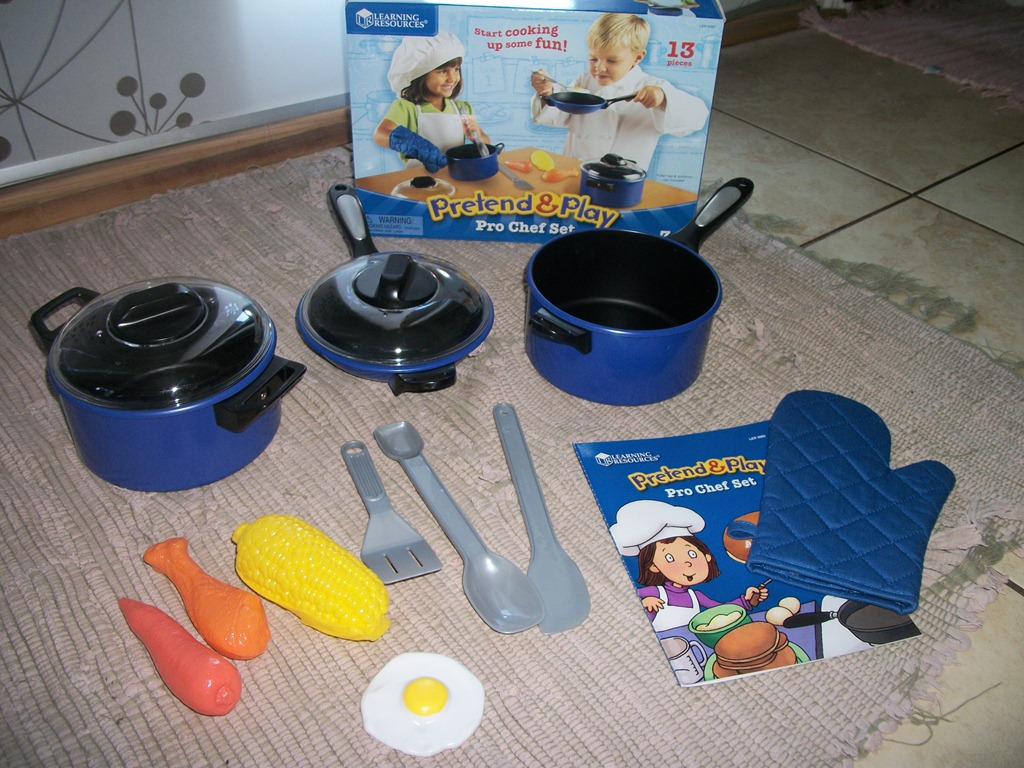 9f624e774a57b Learning Resources Pretend and Play Pro Chef Set  Review  - 2 Boys + ...