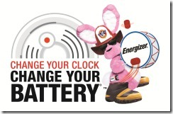 Change Your Clock Change Your Battery Logo