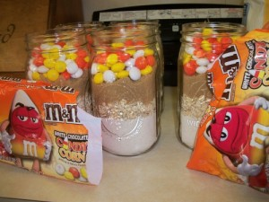 halloween craft idea with m m s candy corn white chocolate and