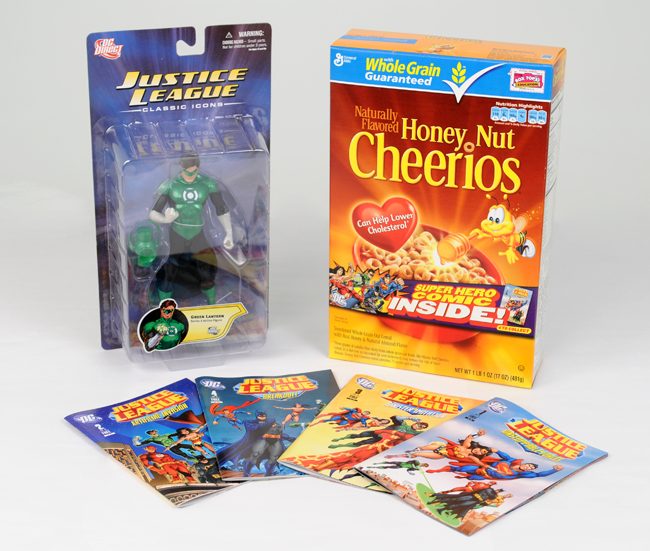 Big G Cereal and DC comics #MyBlogSpark {Giveaway}