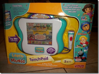 Amazon: Fisher-Price Learn Through Music TouchPad for $22.40