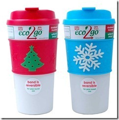 Holiday Gift Guide Event #win a eco 2 go Coffee mug {Giveaway}