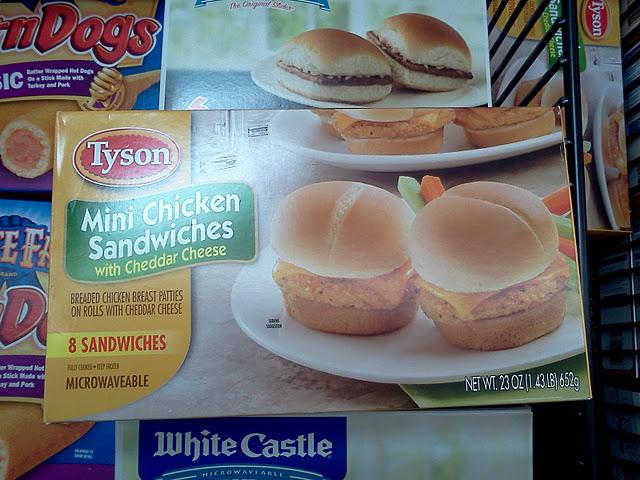 Enjoy some #TysonGoodness Mini Chicken Cordon Bleu Sandwiches #cbias