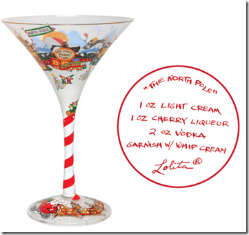 lolitas products can be purchased directly through lolitacom retail price is 240 making this an amazing christmas treat or birthday gift for mom - Christmas Martini Glasses