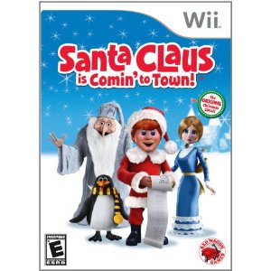 Santa Claus is Comin' to Town Wii Game {Review & Giveaway}