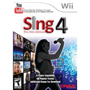 Sing4: The Hits Edition with Microphone Wii game {Review & Giveaway}