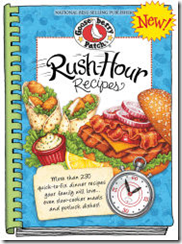 """Gooseberry Patch """"Rush Hour Recipes"""" Book Review & Giveaway"""