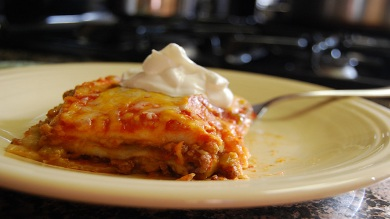 What's for Dinner–Enchilada Bake