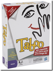 Taboo Hasbro Game {Review & Giveaway}