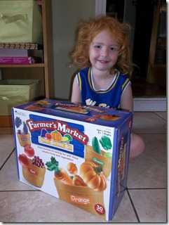 Learning Resources Farmer's Market Set {Review & Giveaway}