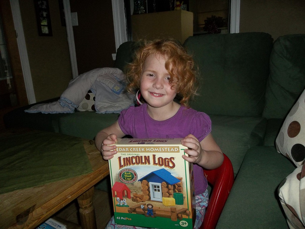Lincoln Logs an all time favorite Building Set {Review}