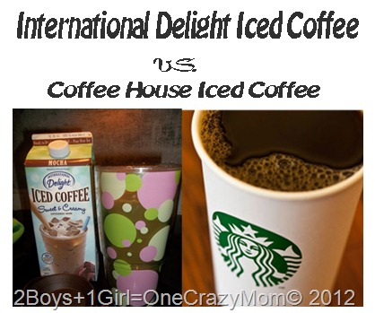 Savings Challenge with International Delight #IcedCoffee and #Cbias
