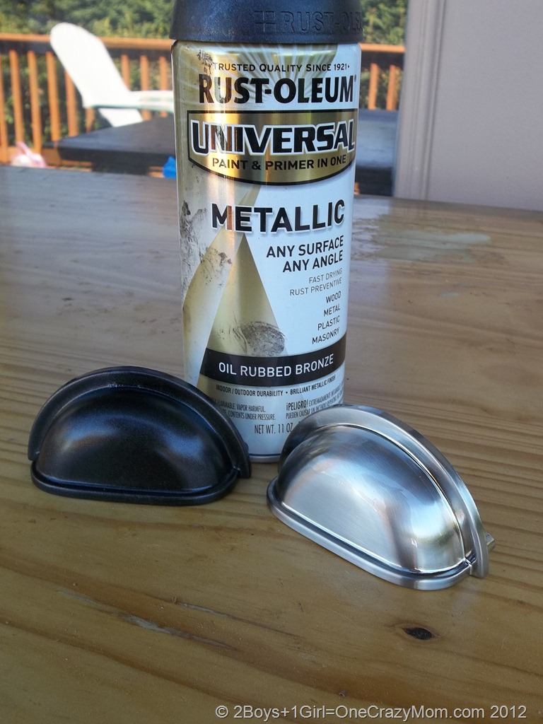 Updating your Kitchen hardware- #DIY Project
