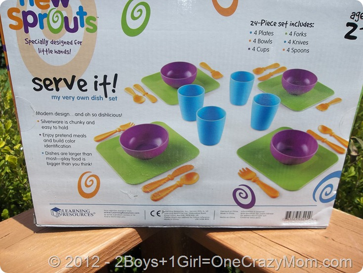 New Sprout Serve it! Set from Learning Resources #Giveaway
