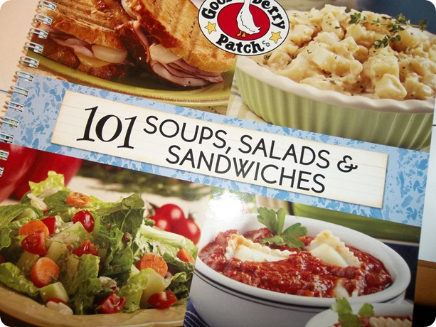 Gooseberry Patch 101 Soups, Salads & Sandwiches book in time for summer dinners {Review & Giveaway}