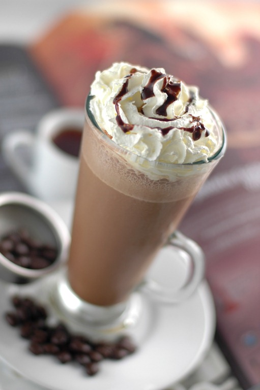 ICED MOCHA FREEZE Recipe in Time to cool off