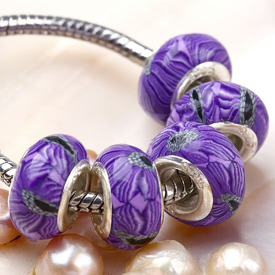 Mother's Day Gift Idea with Polymer Clay Beads