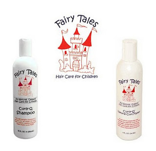 Fairy Tales Curly Q hair care for the little curls {Review}