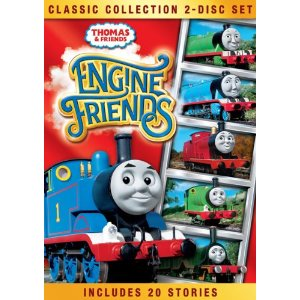 Thomas and Friends Classic Collection Engine Friends DVD {Giveaway}
