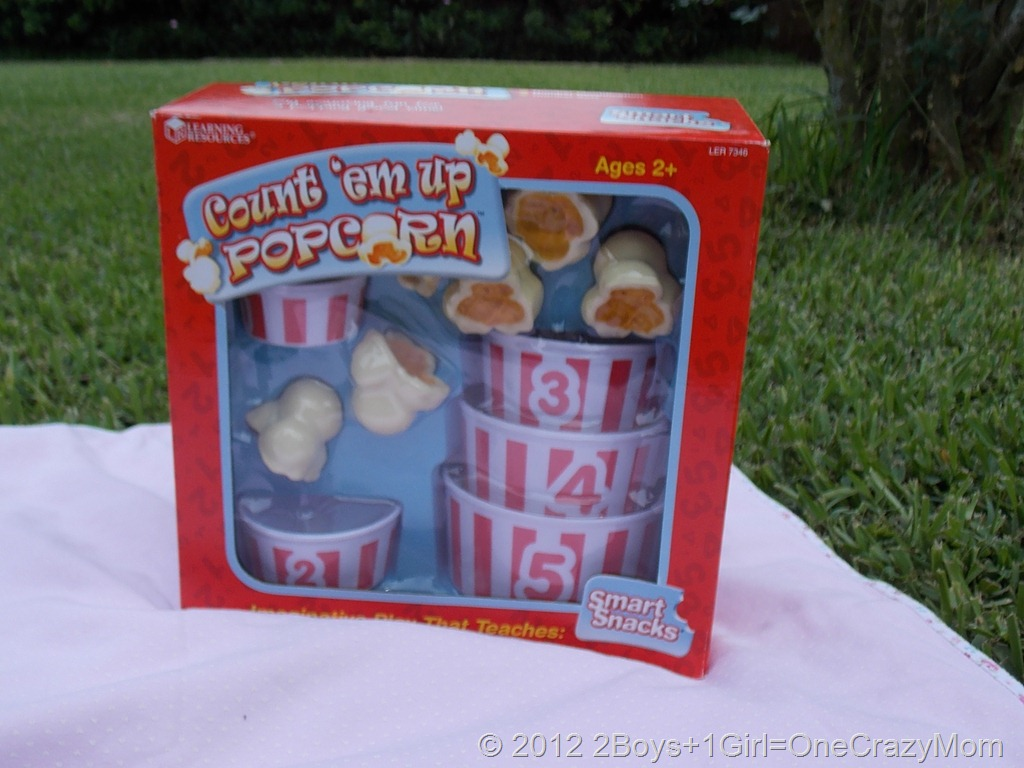 Learning Resources Count'em up Popcorn{Review & Giveaway}